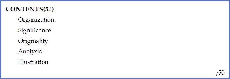 例2)自由採点方式のJudging Sheetの場合